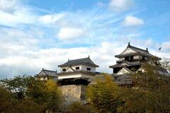 秋の予感…松山城