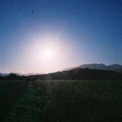 都跡の青い朝