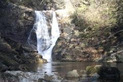 背戸峨廊 トッカケの滝