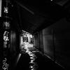 路地裏の光