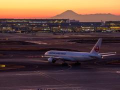 日本の空を行く