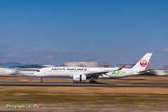 A350 降り流し~(笑)^^