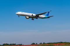 NRT Bラン降り Garuda Indonesia