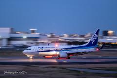 ANA JA59AN Takeoff