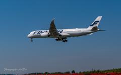NRT Bラン降り FINN AIR A350