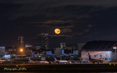 Airport moon