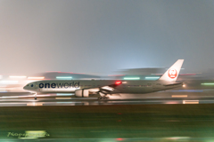 Panning shot in rainy weather 14