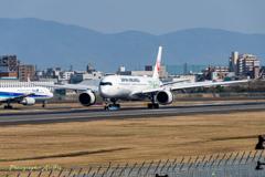 A350 就航 5(大阪へいらっしゃ~~~い!)