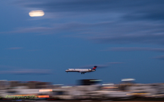 Panning shot earlier this year 5