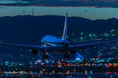 Senrigawa scene Jet blast