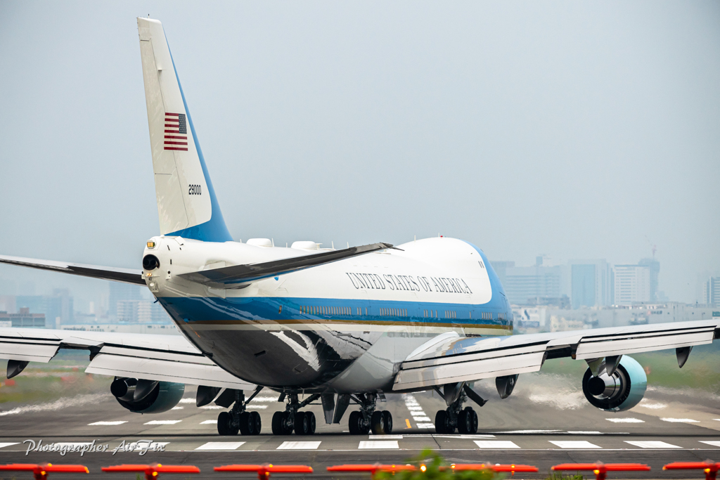 Air Force One in ITM オシリ