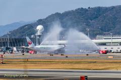 A350 就航 7(大阪へいらっしゃ~~~い!)