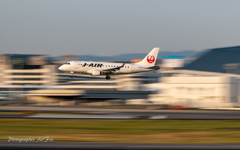 J-AIR JA224J approach流し