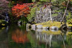 古峯園の秋