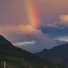 朝の虹とタロコ号