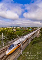 [最終便]台湾新幹線Xカナヘイの小動物コラポ列車