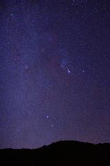 くじゅう連山の星空