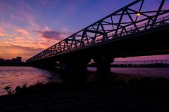 江戸川と二つの橋
