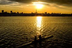 江戸川とボート