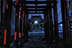 道念稲荷神社(横浜市鶴見区生麦)