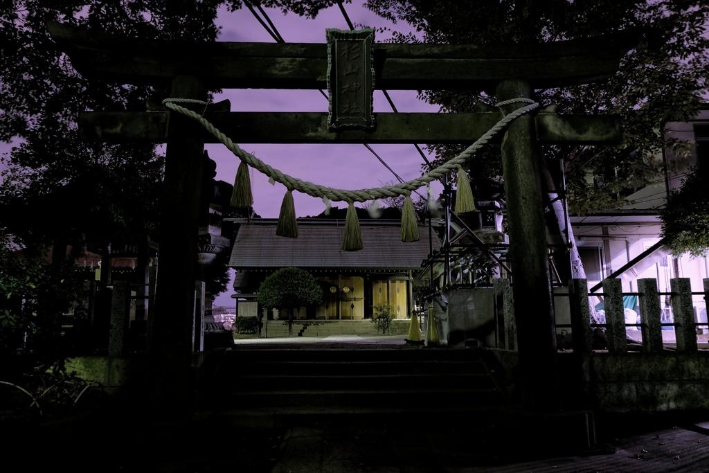 杉山神社(横浜市鶴見区岸谷)