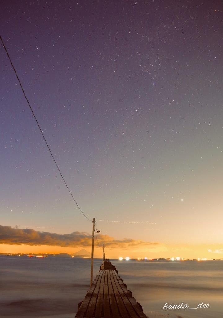 星降る原岡桟橋