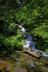 白金 不動の滝