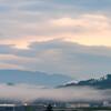 夕刻の雲海