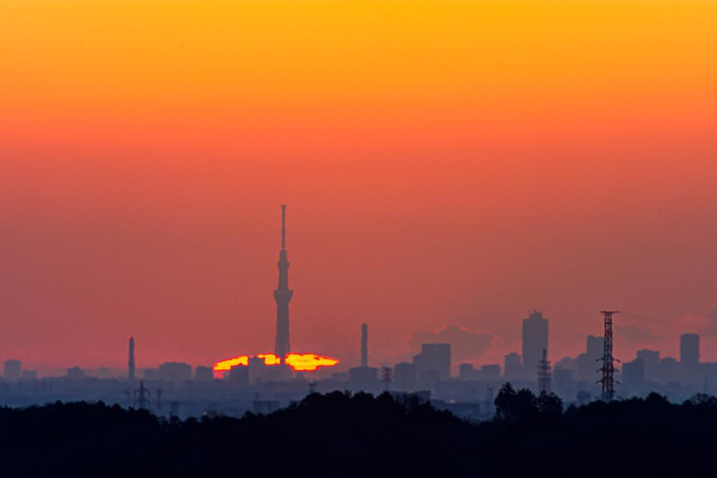 2月7日陽の出