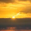 晩夏の加治丘陵:関東平野の昇陽と