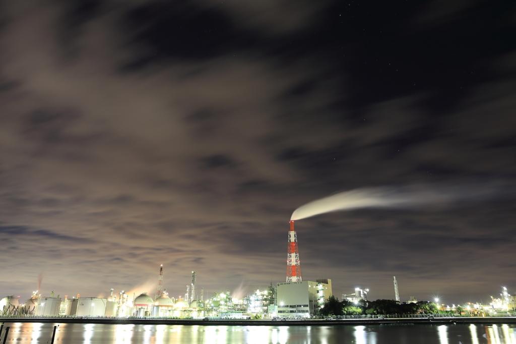 四日市工場夜景06