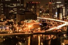 大阪夜景✨