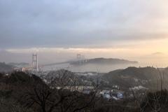 霧の瀬戸内