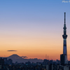 Sunset in Tokyo 2019
