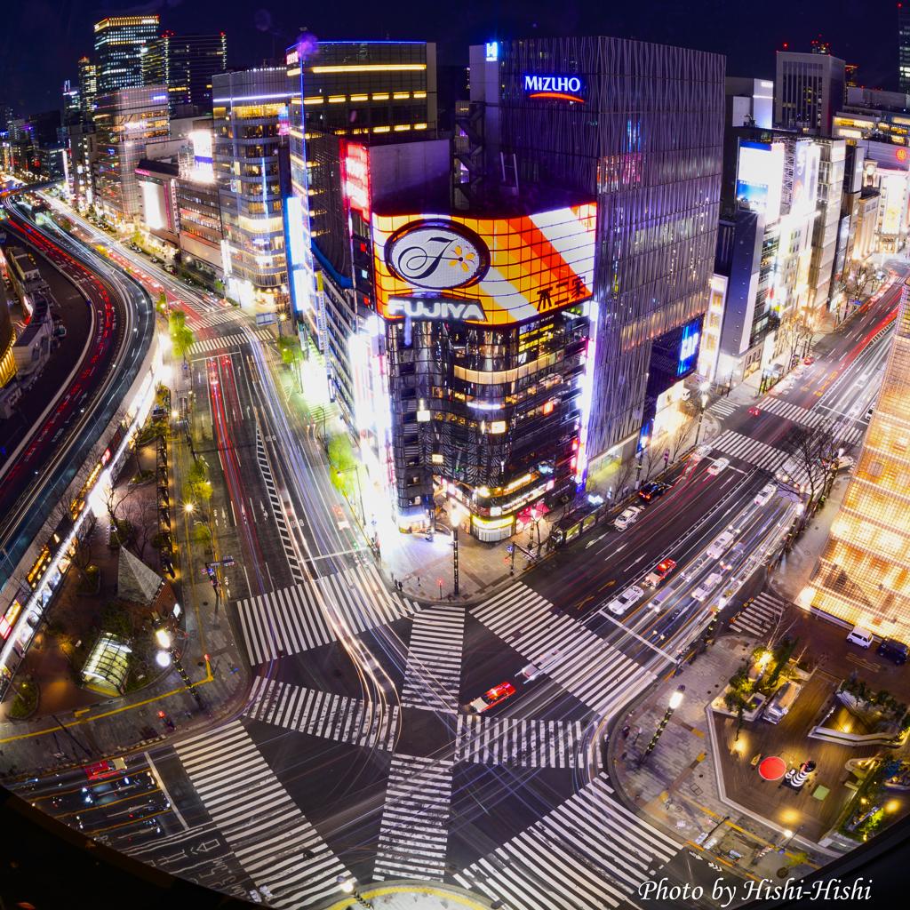 Urban shooting stars 16th ~ Sukiya-bashi