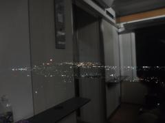 夜景を車窓から