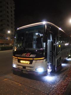 高尾駅一番バス(到着だけど)その1