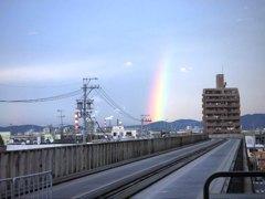 リアルに虹(補正+再掲)