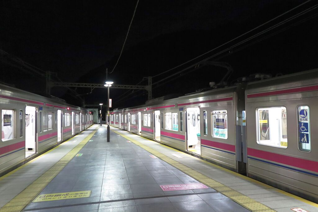 高尾→新宿 深夜の一本勝負(京王)