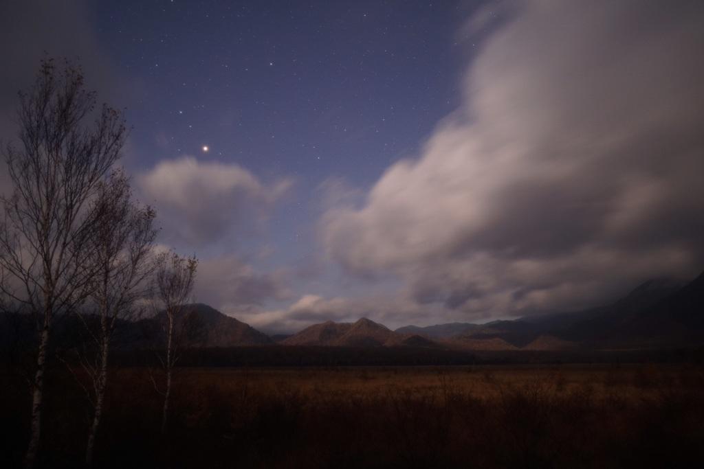 夜の戦場ヶ原