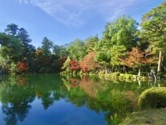 兼六園 霞が池2