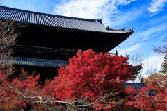 秋晴れの南禅寺
