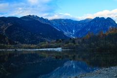 静寂の大正池