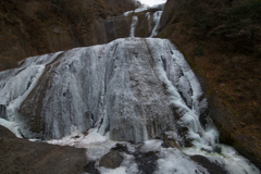 氷瀑!袋田の滝➀