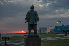 日本最北端の日の出