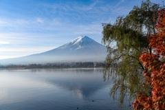 秋の逆さ富士
