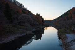 秋と冬の狭間の朝