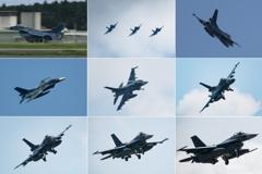F-2のF-2によるF-2のための9コマ劇場