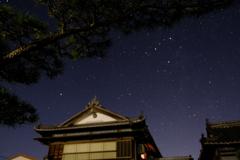田舎の星空