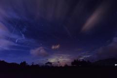 神津島 夜空